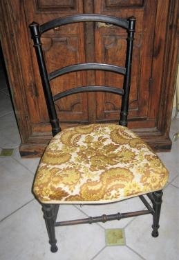 Chaise avant transformation