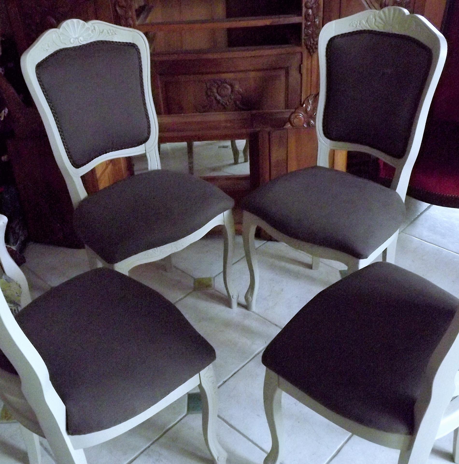 Les chaises avant et apr s for Les chaises