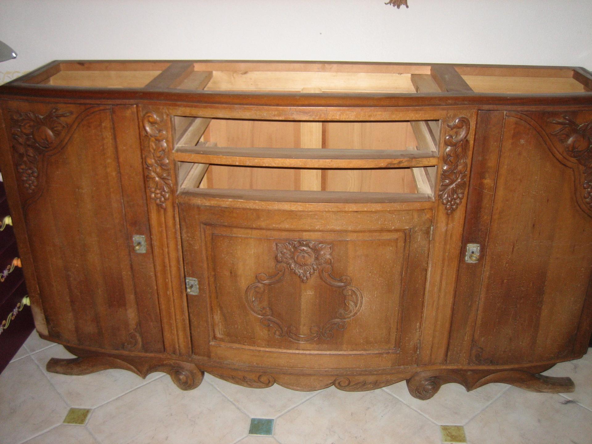 Avant et apres restauration for Restaurer un meuble ancien