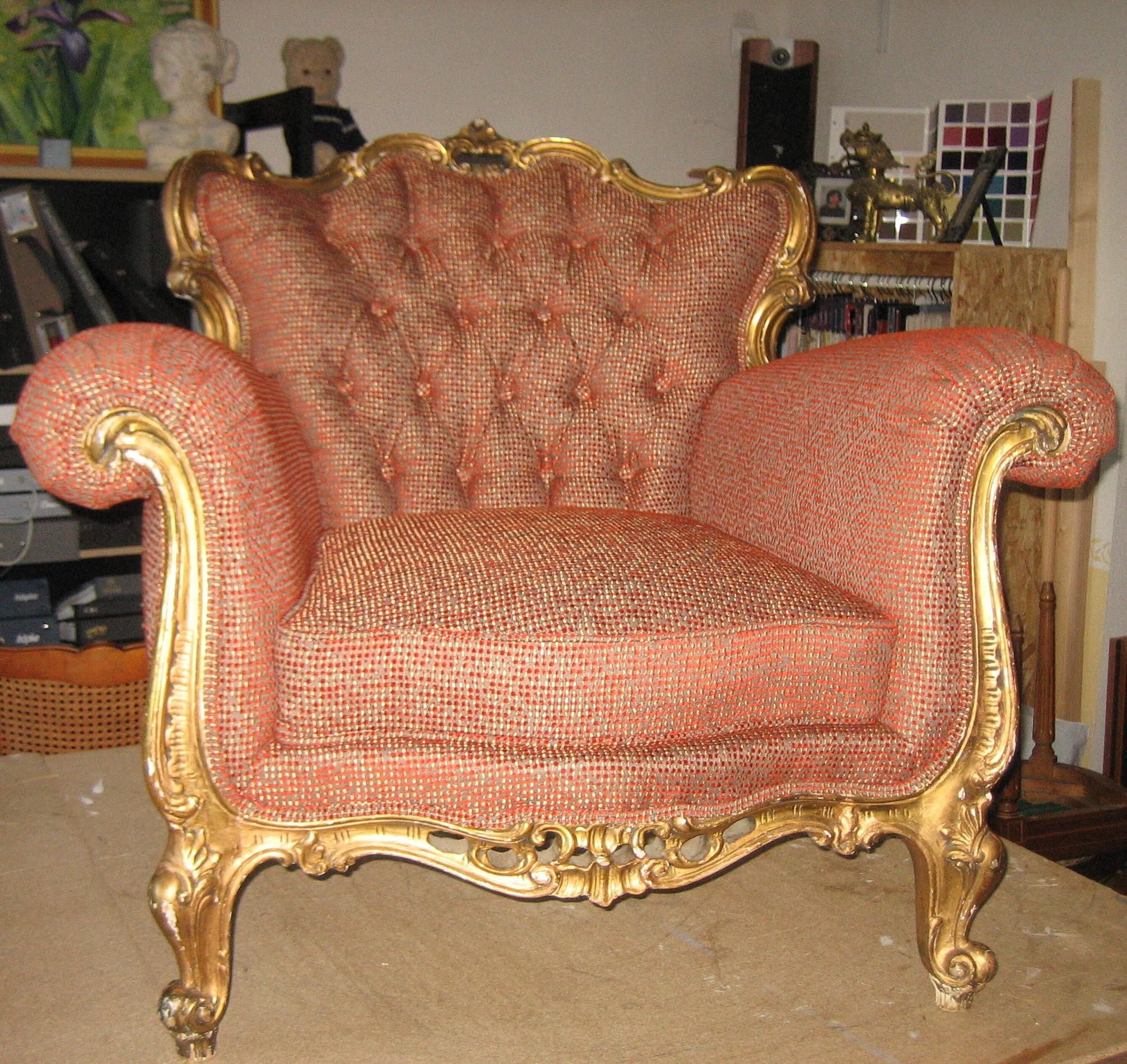 2ème fauteuil baroque