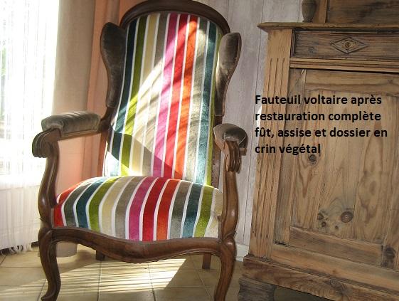 Voltaire 19ème restauré