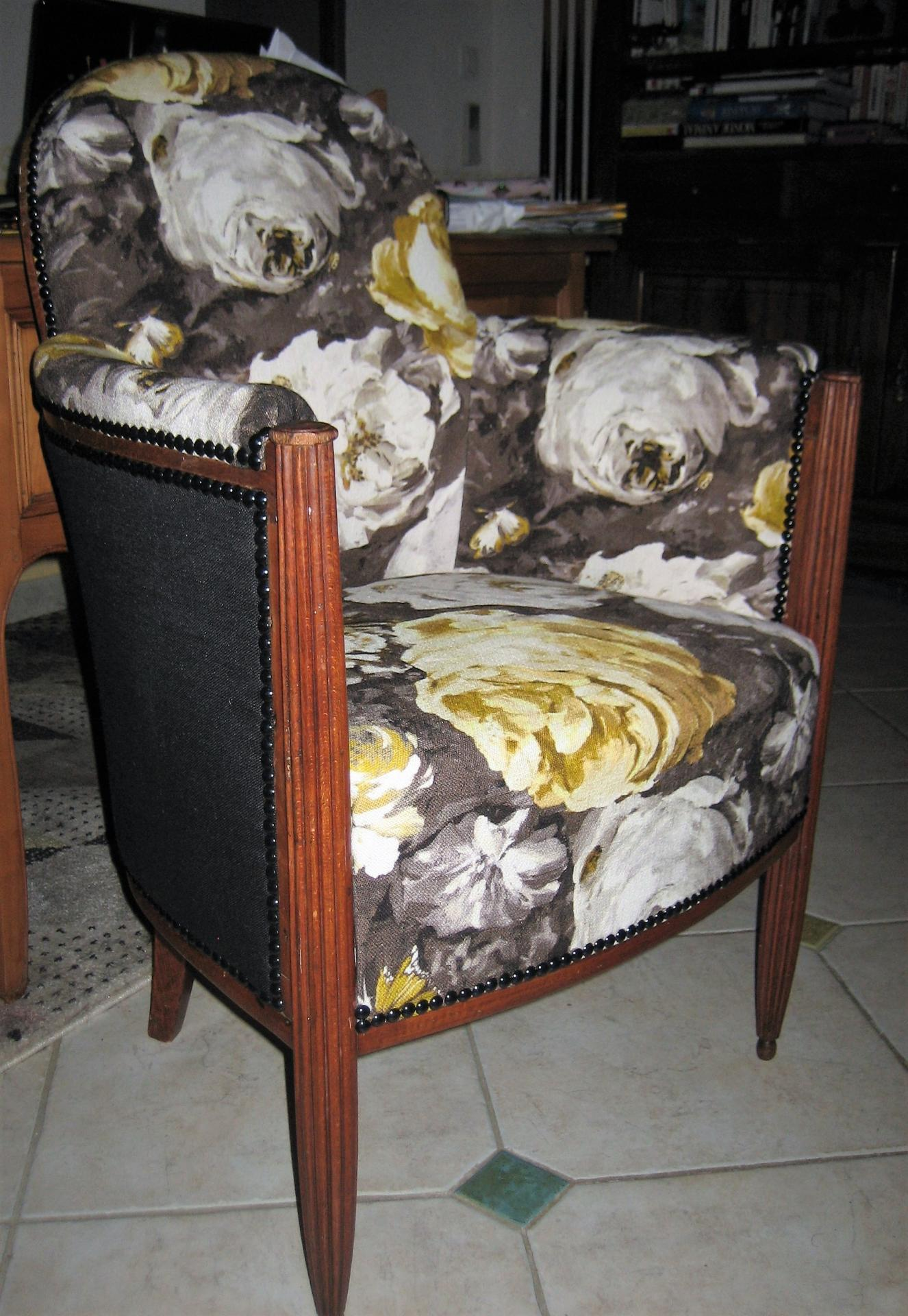 Fauteuil collection tournesol