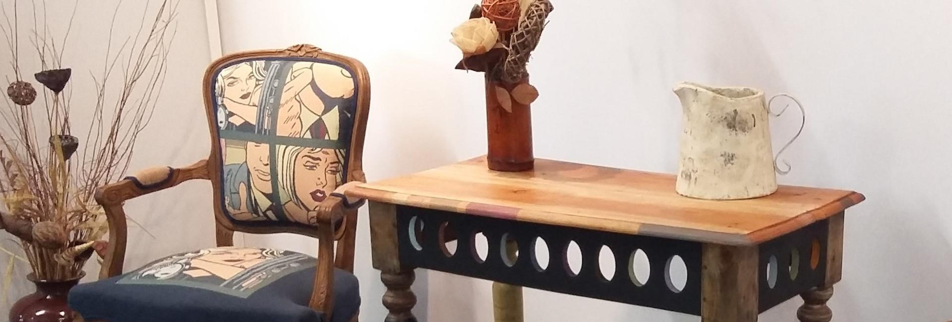 Une restauration à l'ancienne de vos meubles, chaises & fauteuils...